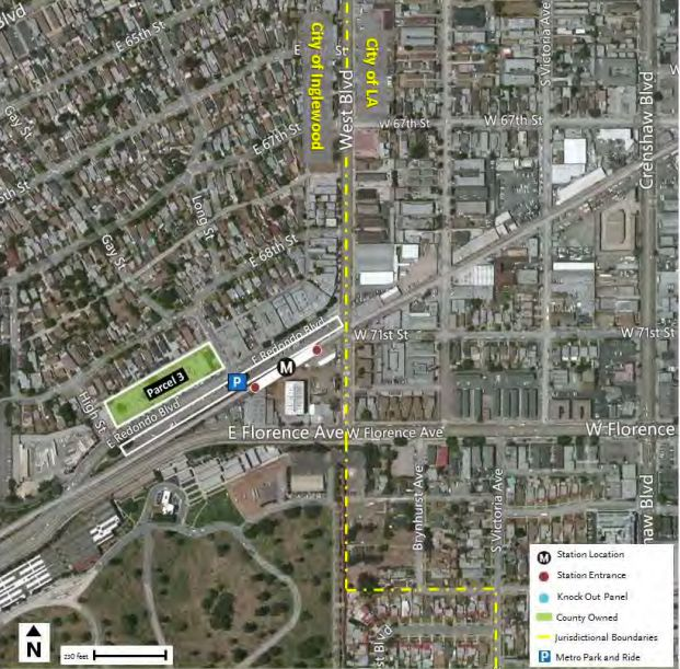 Potential project site near Fairview Heights Station