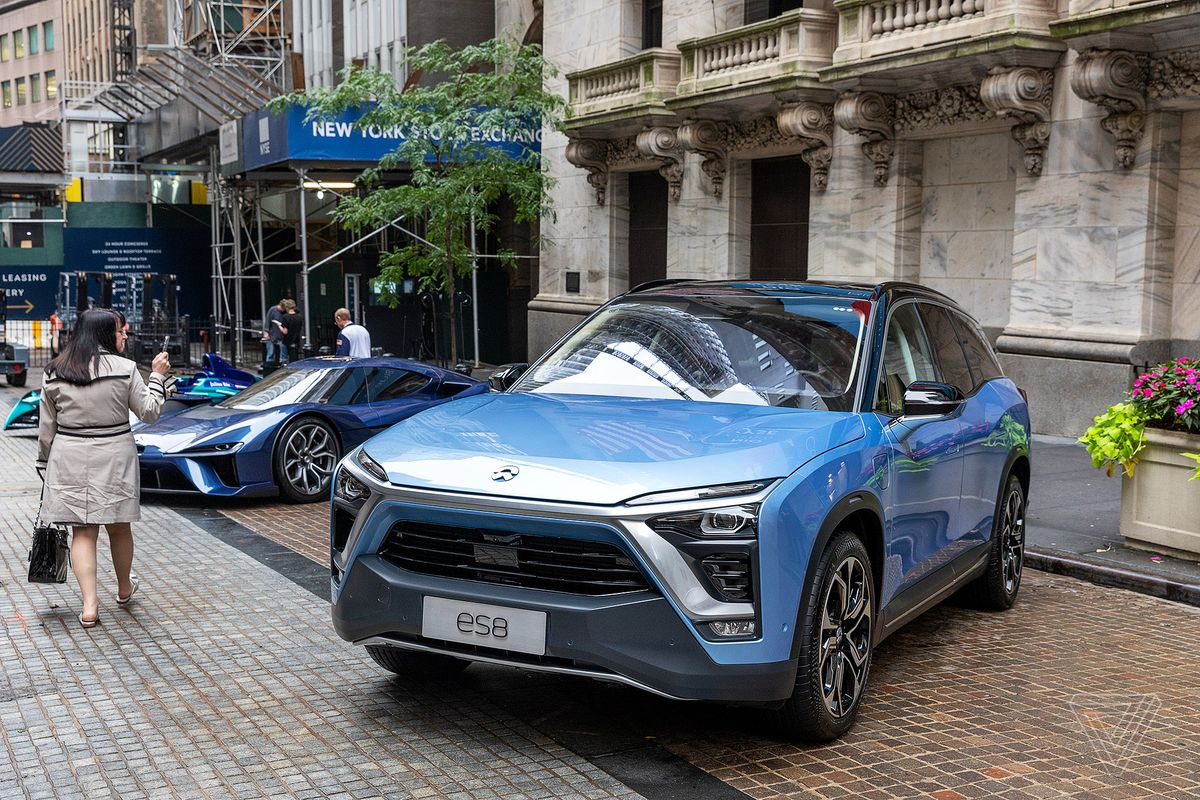 Ev Startup Nio Abandons Plan To Make Its Own Cars The Verge
