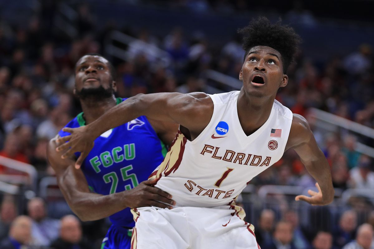 The Minnesota Timberwolves select Dennis Smith Jr. from Florida State with the No. 7 overall pick in the Blazer's Edge 2017 NBA Mock Draft.