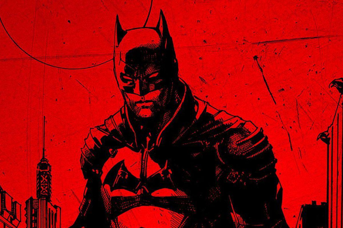 the batman poster: jim lee original art of matt reeves' rebooted character