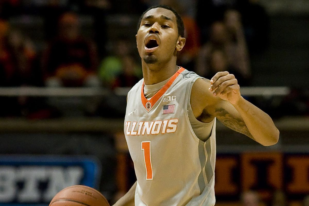 Jaylon Tate is back for the Illini