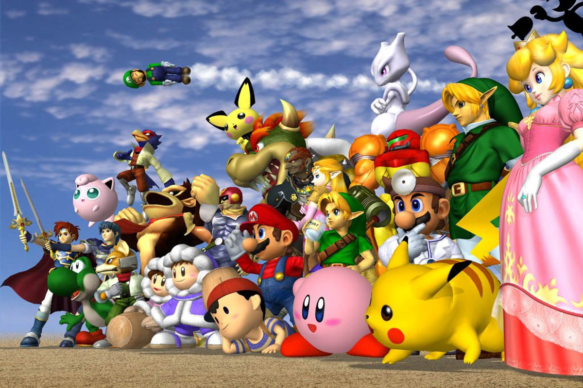 Image result for smash bros melee