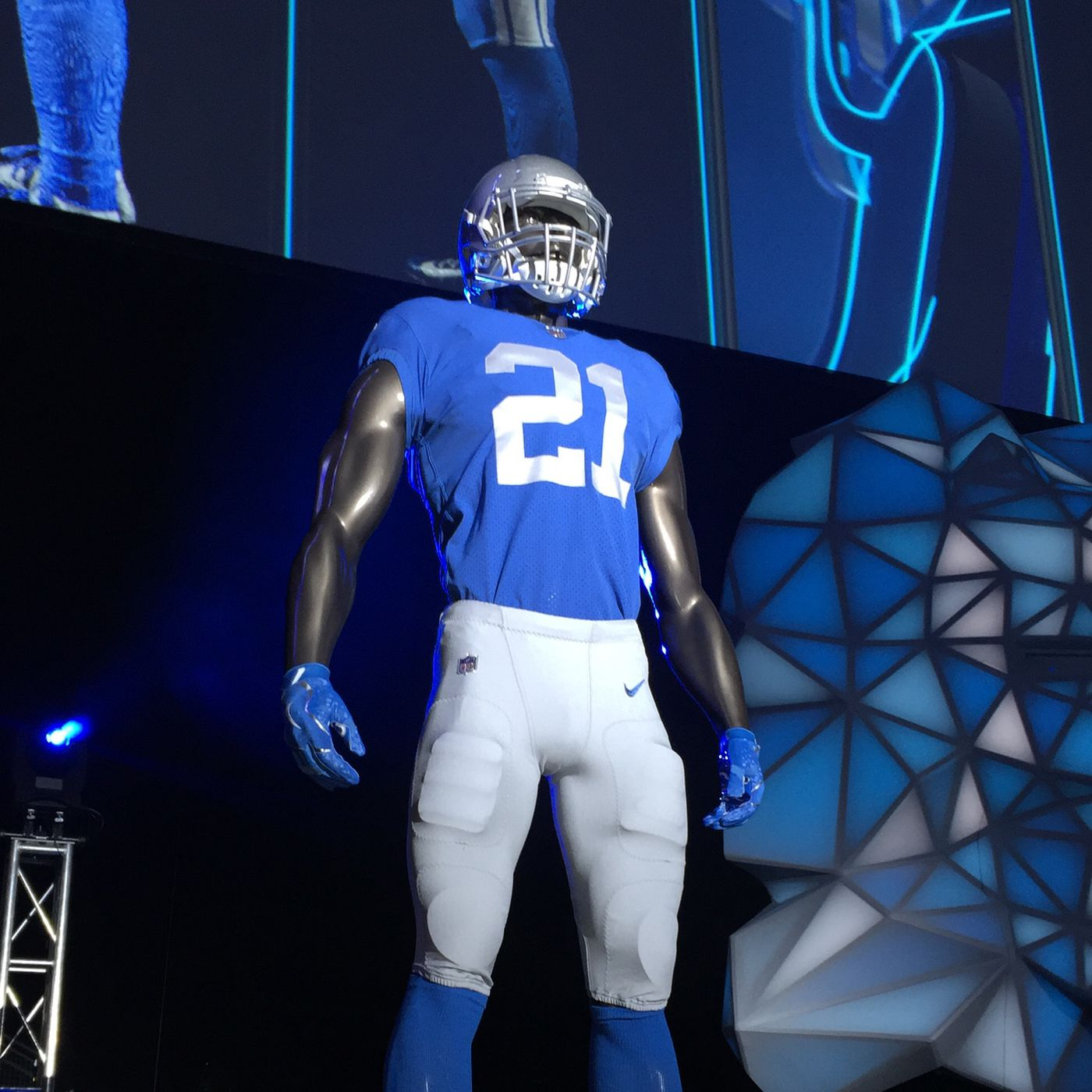 the latest 85fad 66e7f New custom Detroit Lions jerseys now available for purchase ...