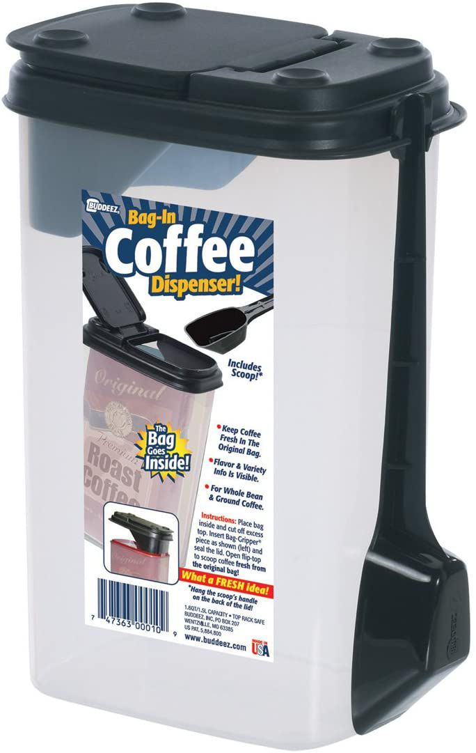 Buddeez Coffee and More Dispenser