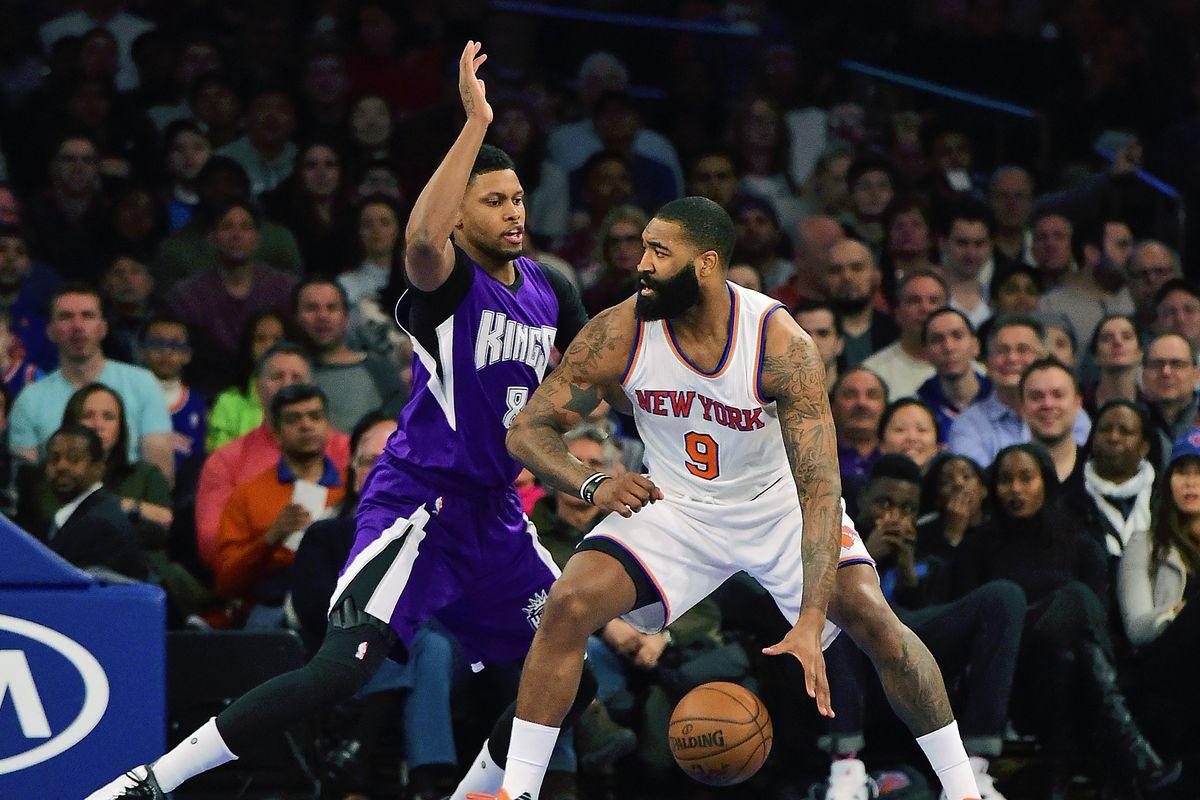 NBA: Sacramento Kings at New York Knicks