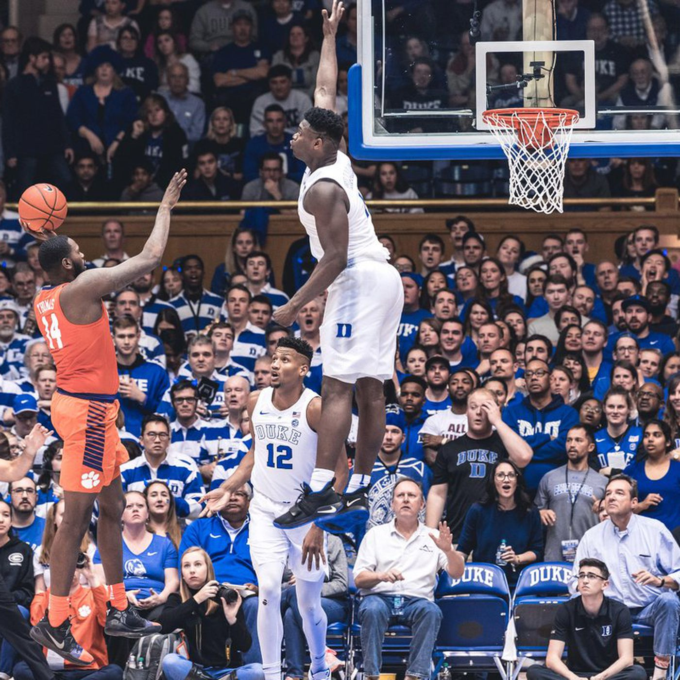 Image result for zion williamson vertical
