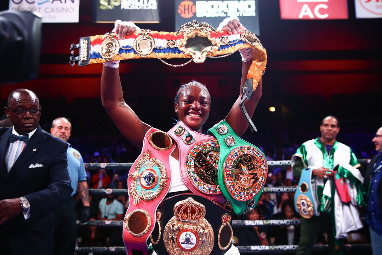 LR SHO FIGHT NIGHT CLARESSA SHIELDS WINS TRAPPFOTOS 04132019 0499.0 - Shields calls out Braekhus and Marshall