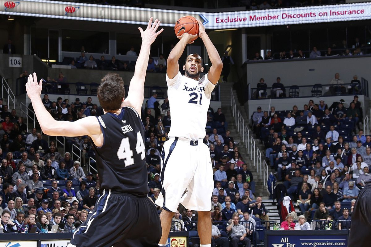 The newly emboldened Jeff Robinson will hope to lead Xavier to victory on Thanksgiving.