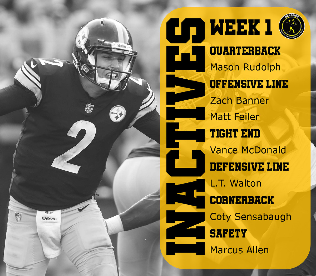 Pittsburgh Steelers Vs. Cleveland Browns Week 1 Game Day