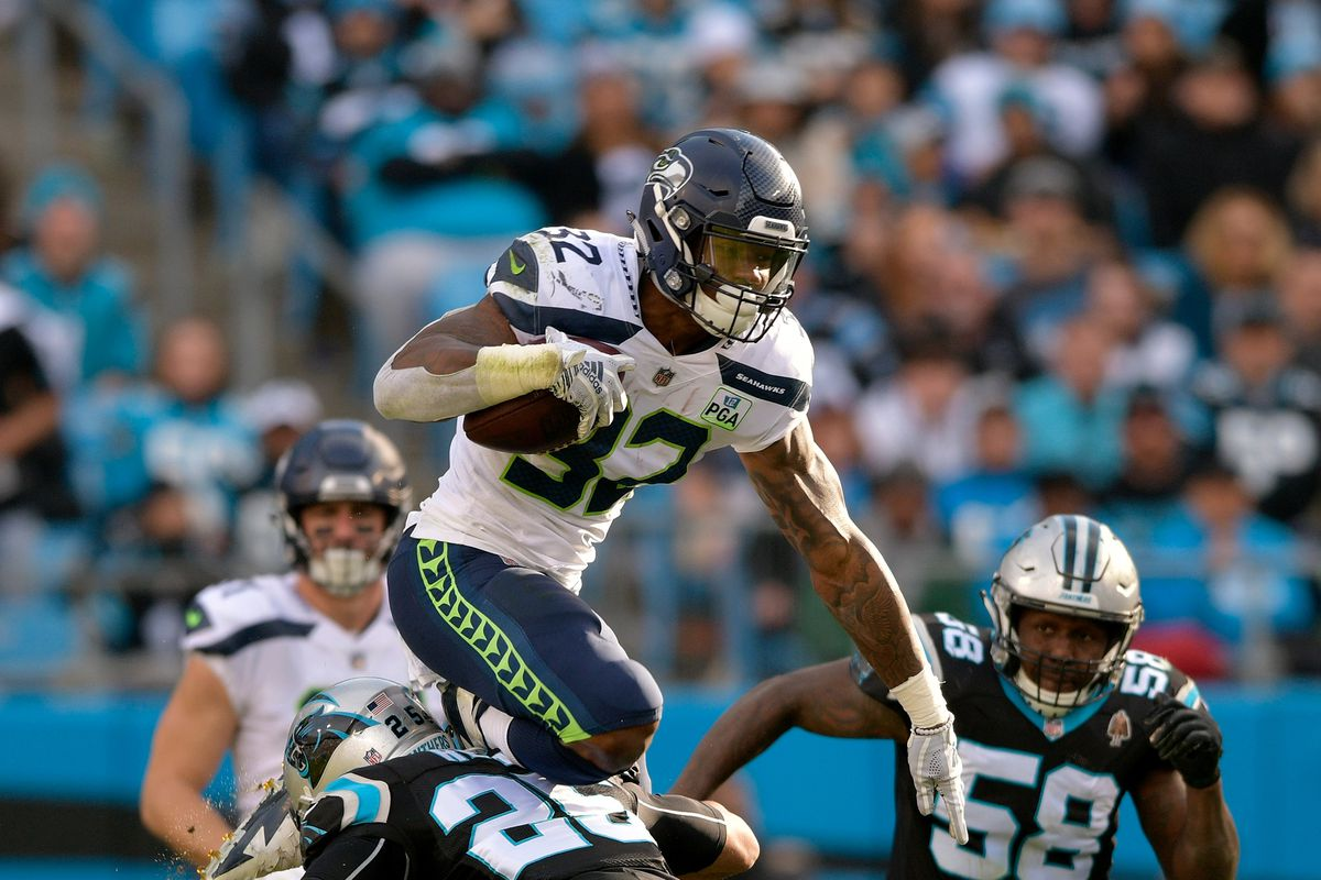How Chris Carson showed his athleticism in comeback win over Panthers