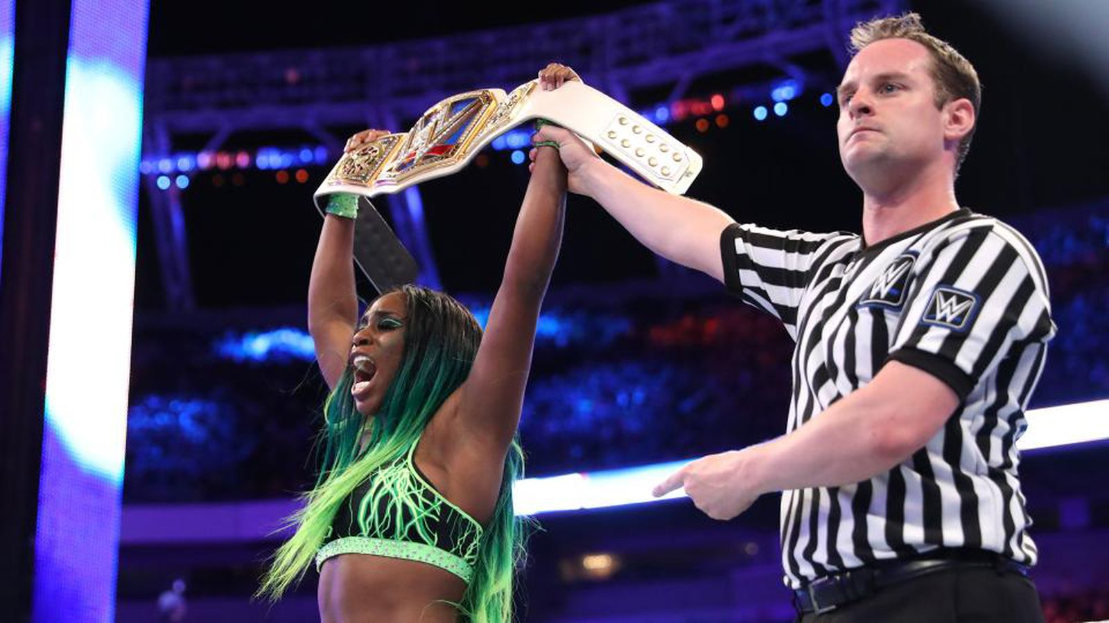 Naomi Vs Alexa Bliss Title Match Set For Smackdown Live