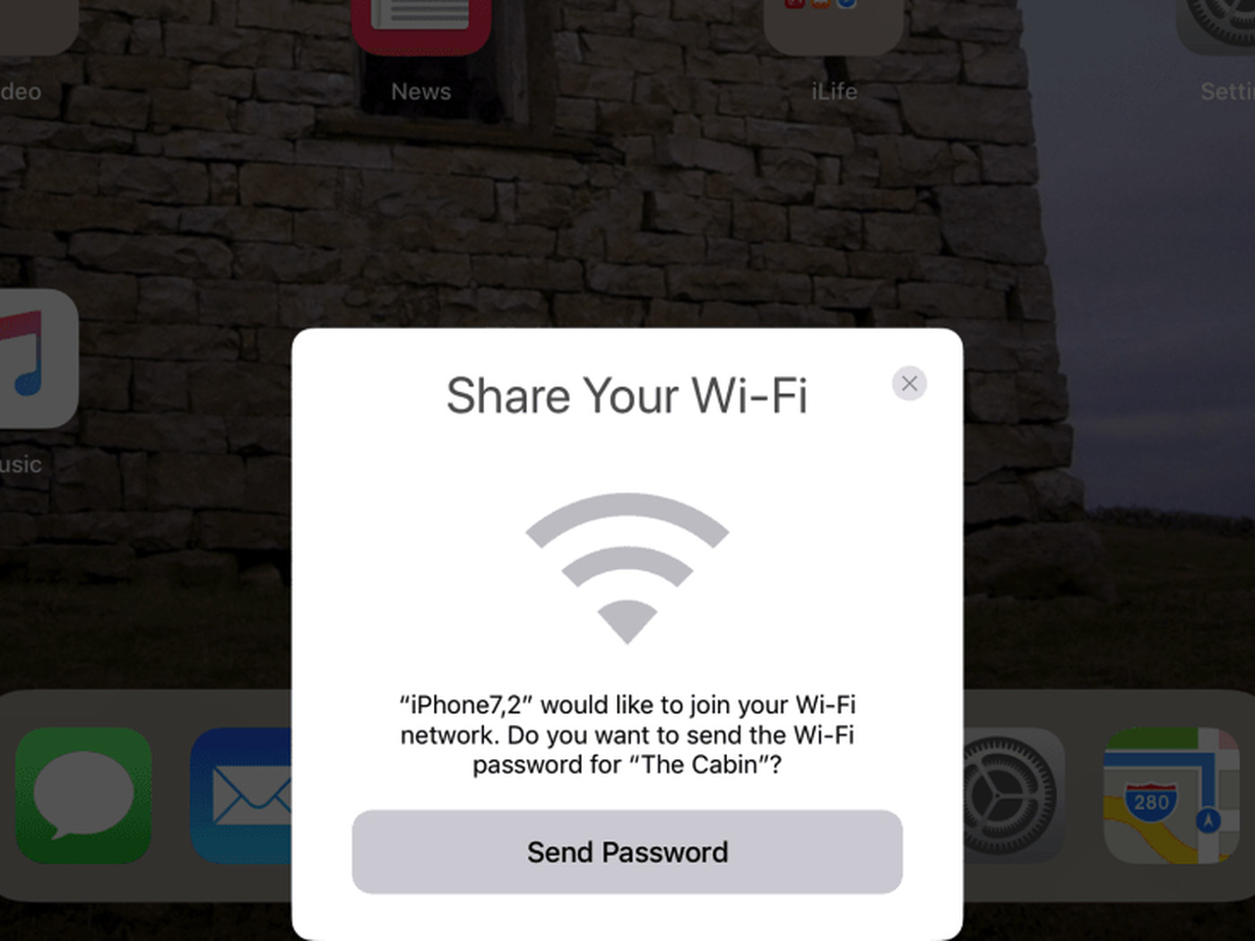 iOS 11 Makes Sharing Your Wi-Fi Password Much Easier