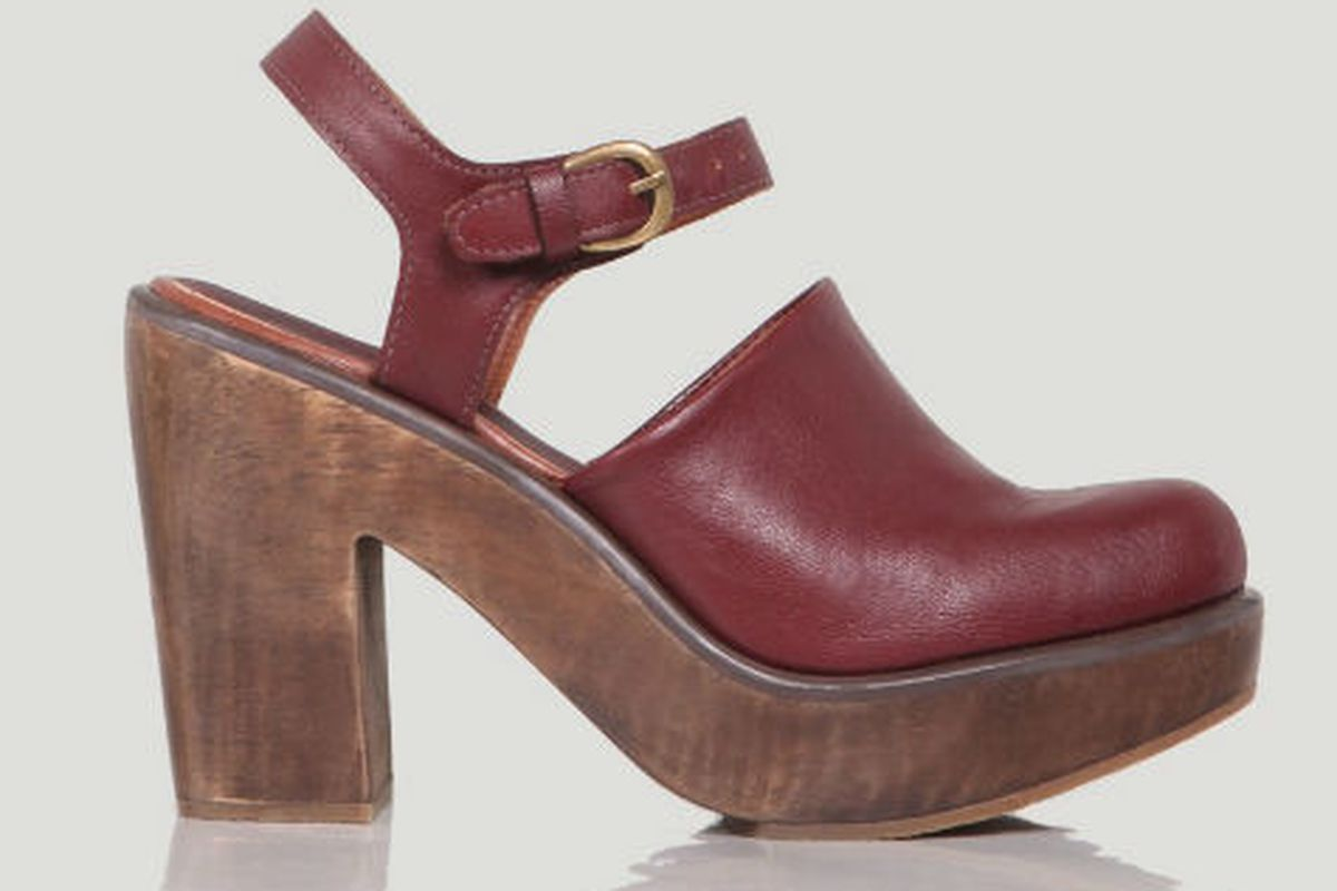 "Rachel Comey's <a href=""http://www.rachelcomey.com/womens-store/shoes/clogs/krill-13.html"">Krill</a> clogs"