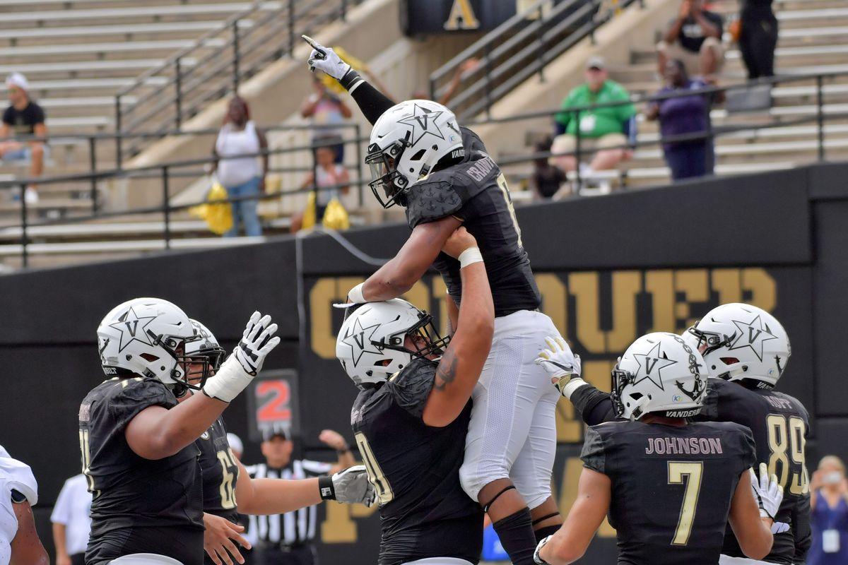 NCAA Football: Nevada at Vanderbilt