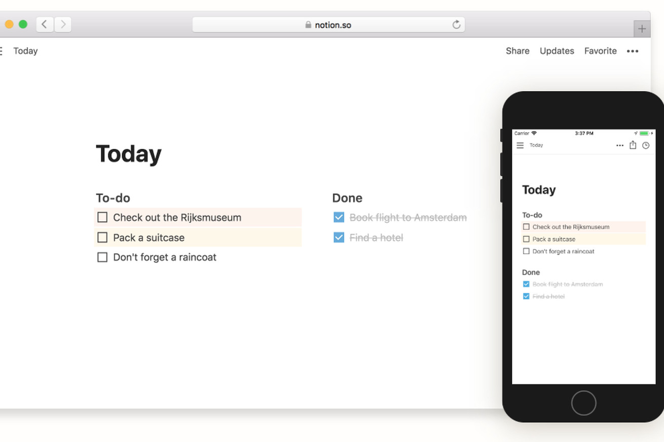 notion brings its powerful note taking app to android