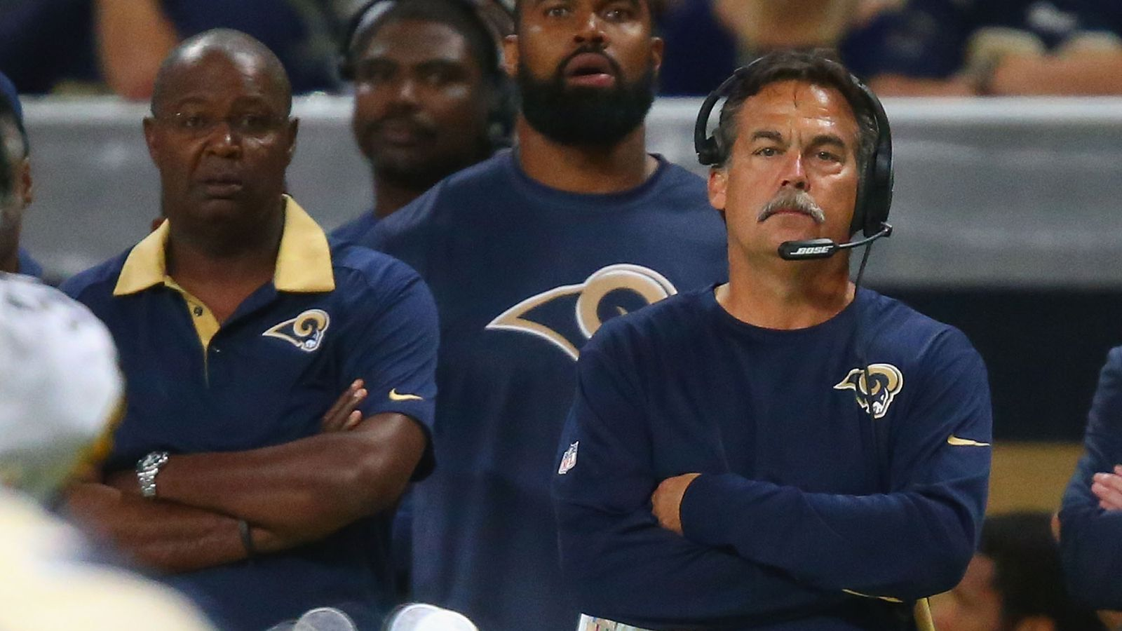 St Louis Rams Head Coach Jeff Fisher Tuesday Practice