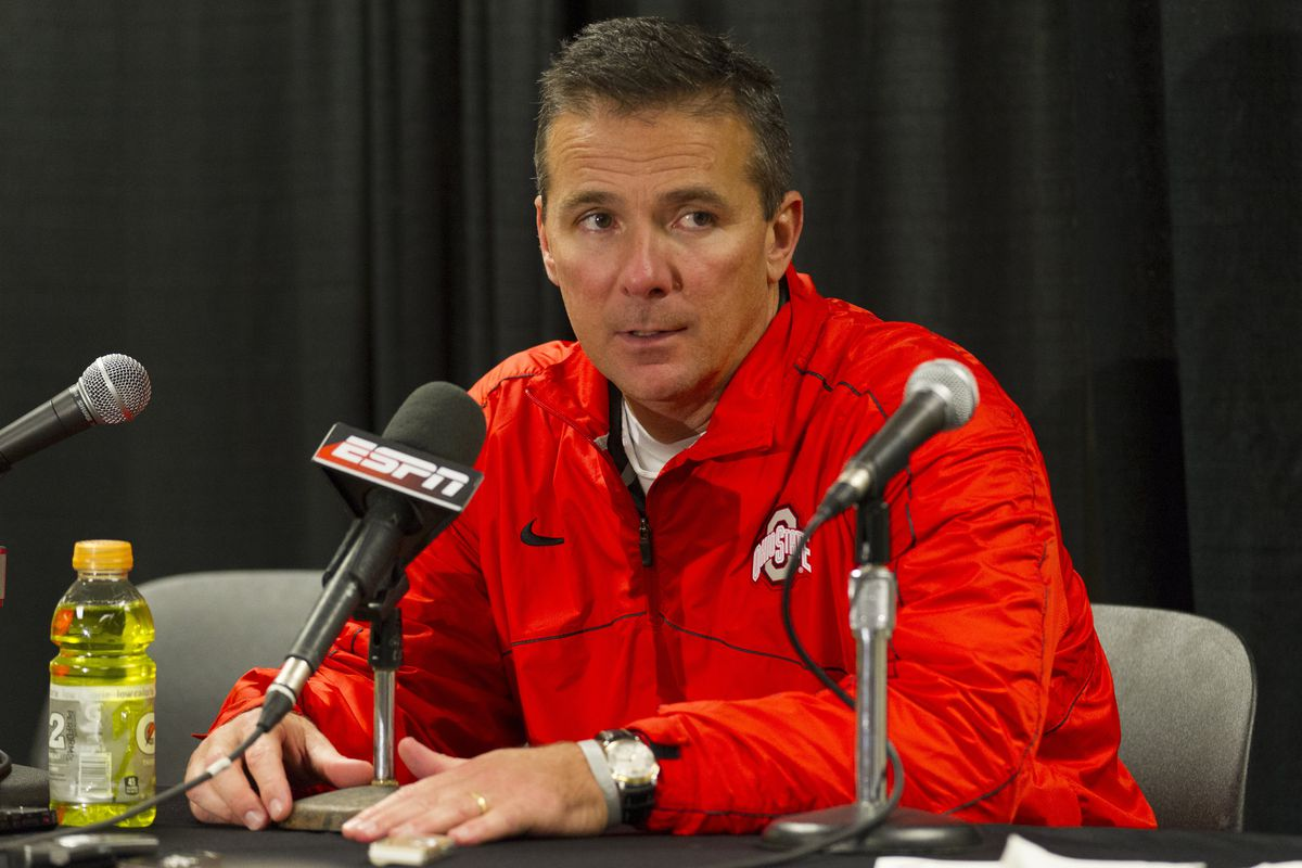 Urban Meyer met with the media to discuss The Game