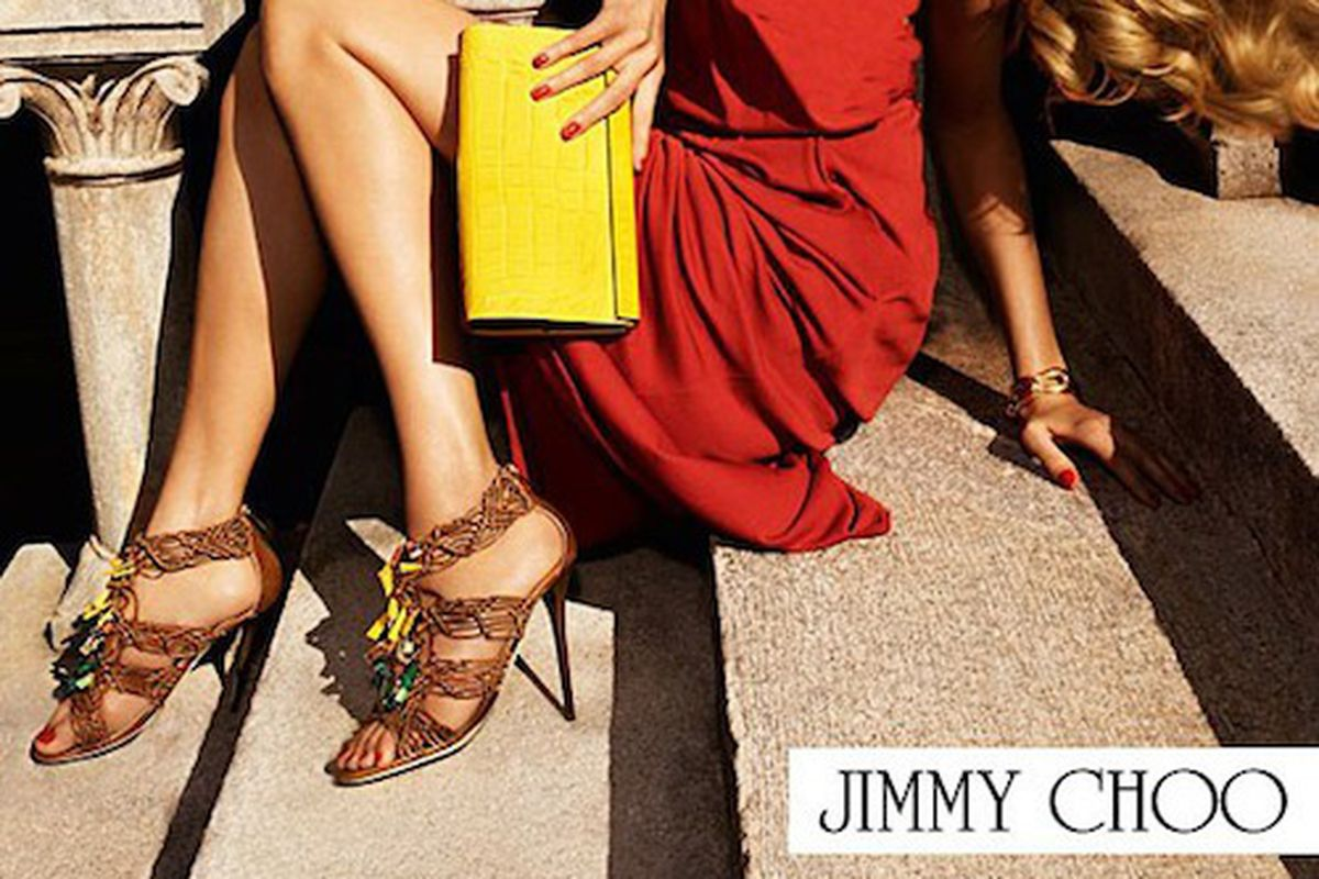 Jimmy Choo's Summer 2012 Campaign