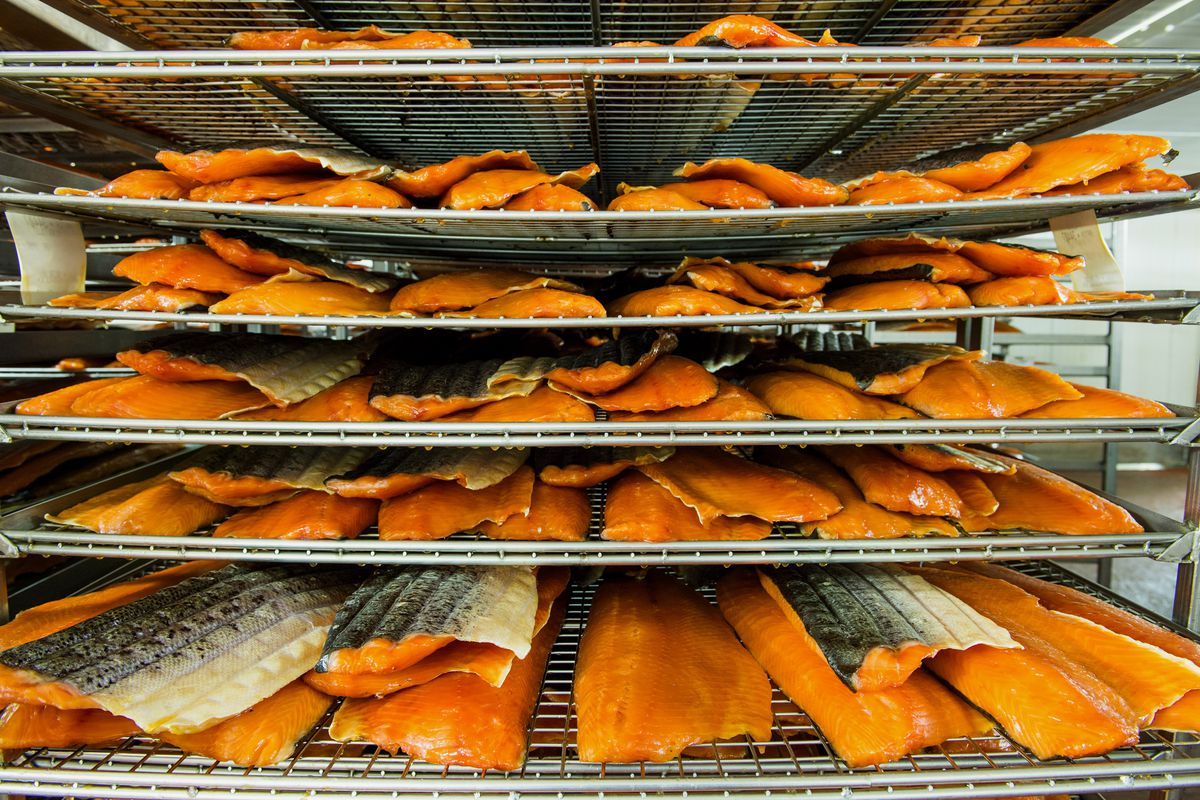 Operations Inside The Acme Smoked Fish Corp. Facility