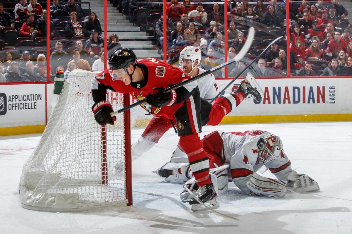 Carolina Hurricanes v Ottawa Senators