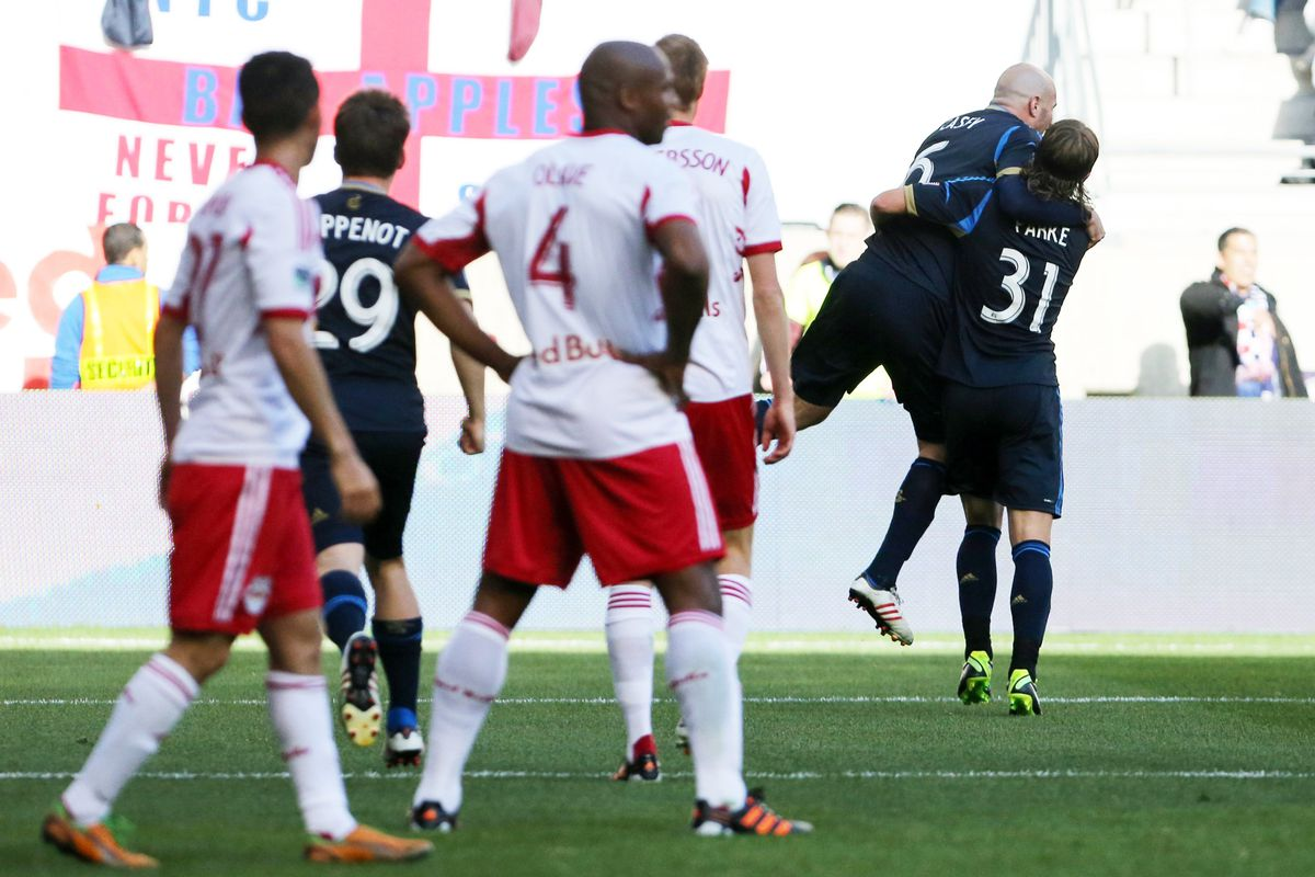 Jamison Olave, Markus Holgersson, and the rest of the NYRB back four have not convinced in 2013.