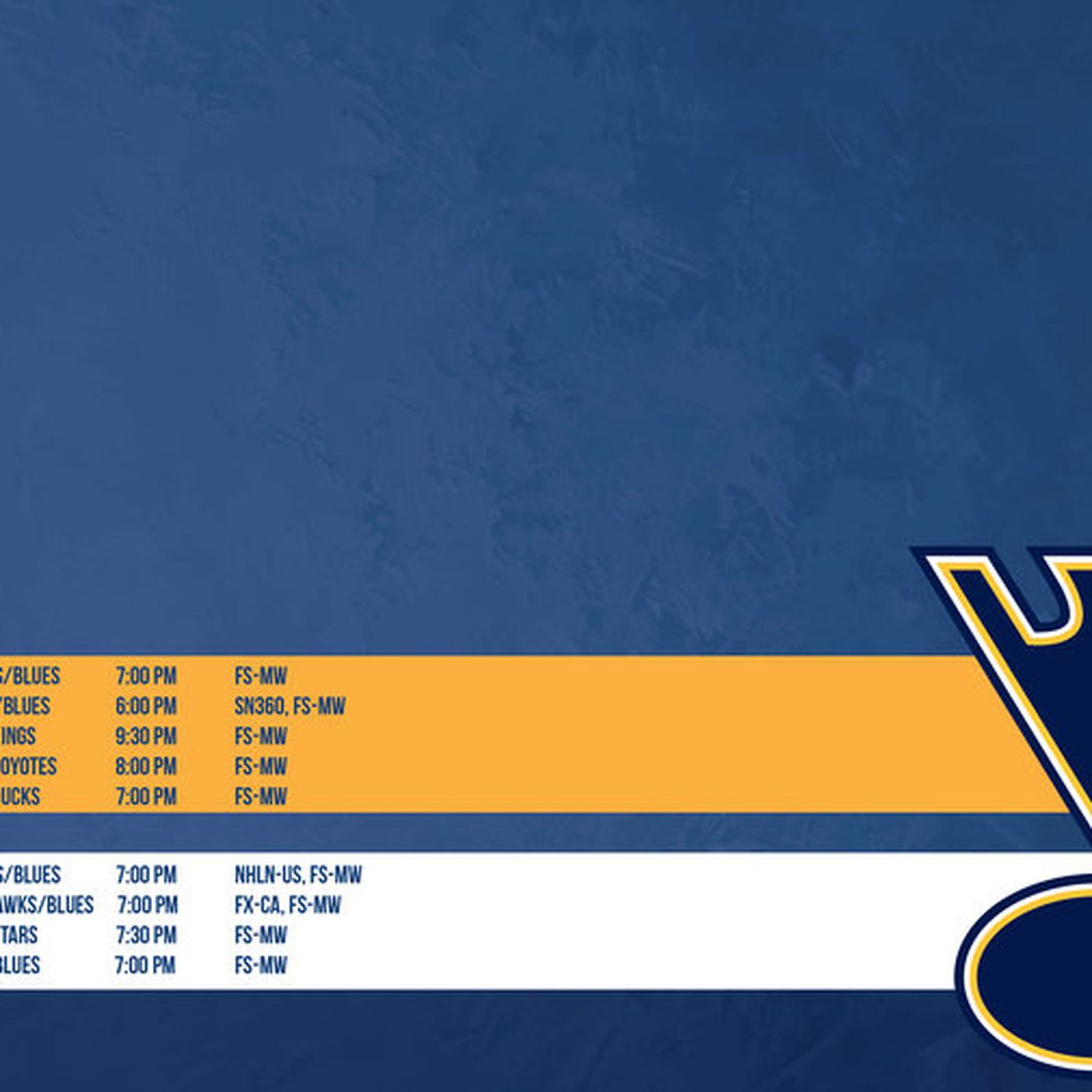 St Louis Blues October Schedule Wallpaper St Louis Game Time