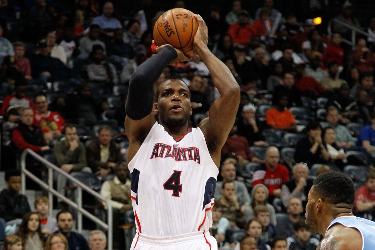 Paul Millsap's offense AND defense have been a huge part of the Hawks' winning ways.