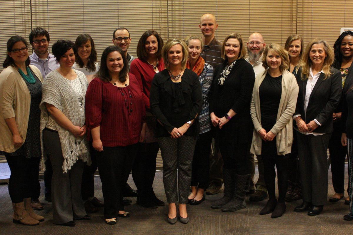 The first cohort of TeachPlus statewide policy fellows.
