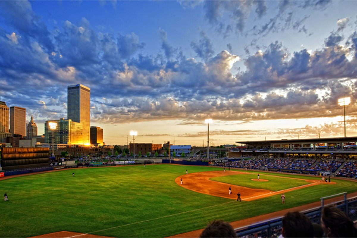 ONEOK Field, site of the 2015 Phillips 66 Big 12 Baseball Tournament