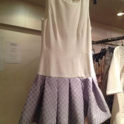 Drop-waist ponte dress, $125