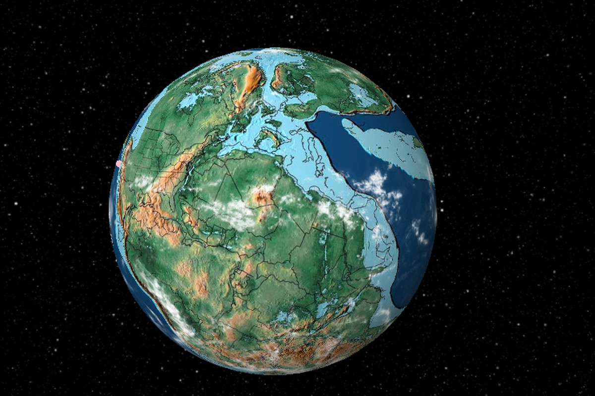 Map Of Australia 50 Million Years Ago.How To Find Your Home On Pangea The Verge