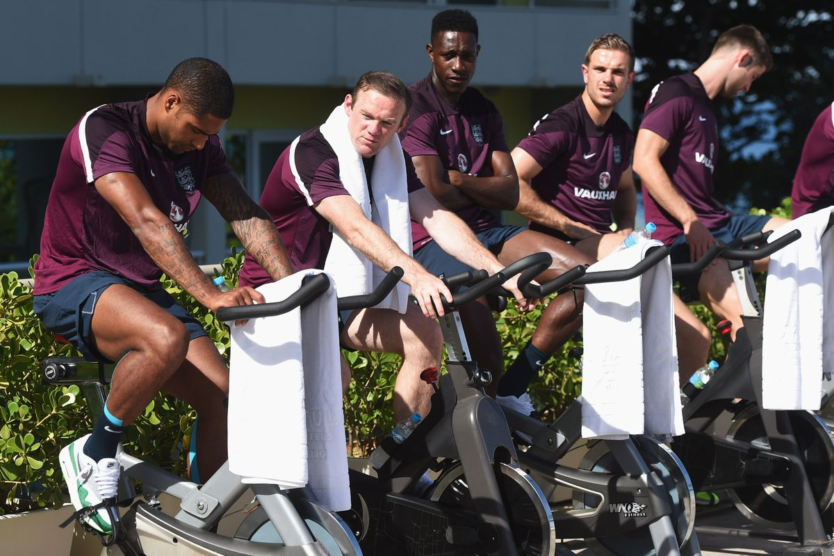On your bike son! Rooney has come under criticism.