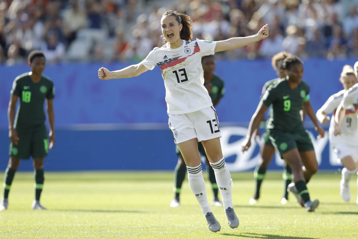 Soccer: Women's World Cup-Germany at Nigeria
