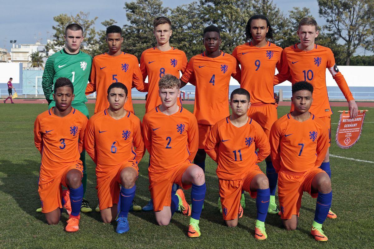 Germany U16 vs Netherlands U16, UEFA Development Tournament Match