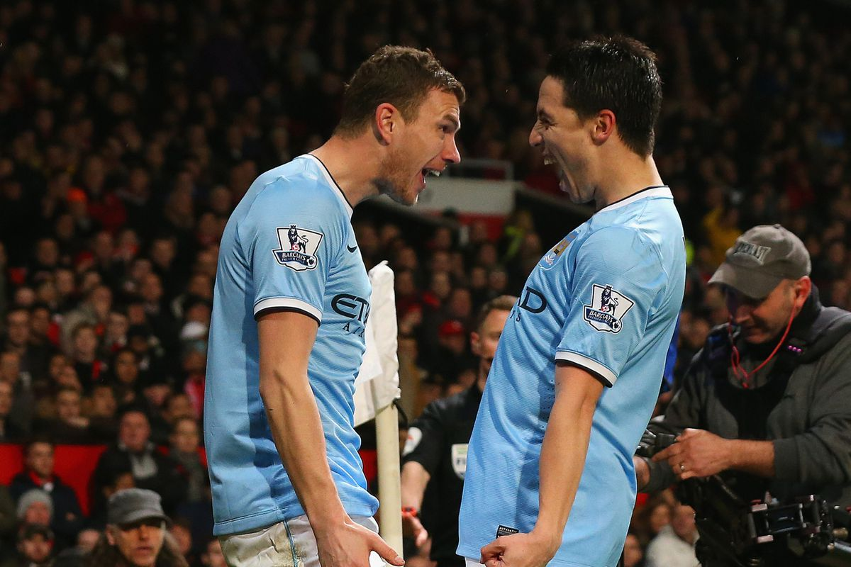 A couple of city's form players who will need to produce today.