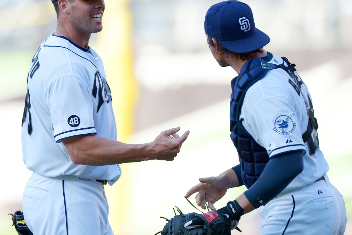 Hopefully the Richard-Baker battery will lead our Padres to victory once more.