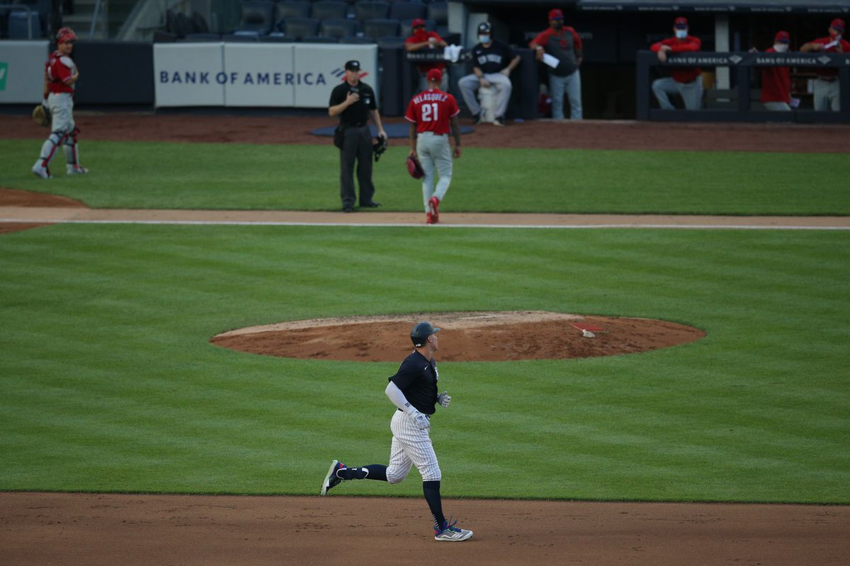 MLB: Exhibition-Philadelphia Phillies at New York Yankees