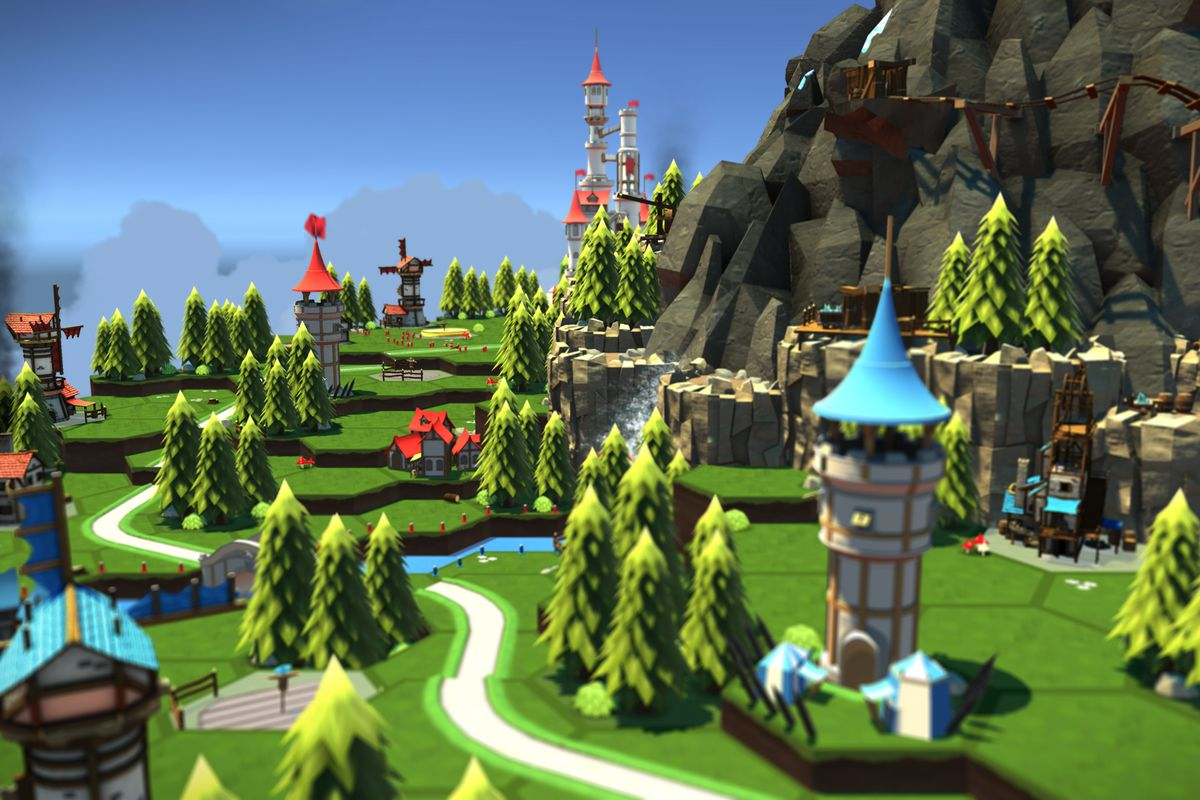 Skyworld and SteamVR could change the way we play tabletop war games