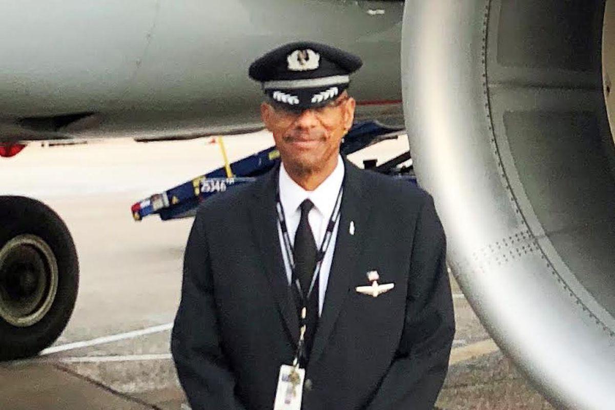 American Airlines pilot Jim Tilmon.