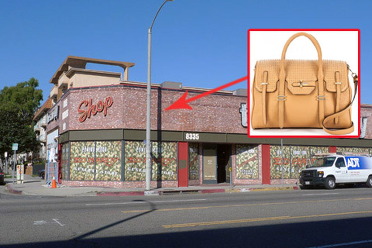 """Store image <a href=""""http://mondette.com/2011/01/31/shops-ed-hardy-general-store-taking-the-same-guy-space-on-melrose/"""">via</a>"""