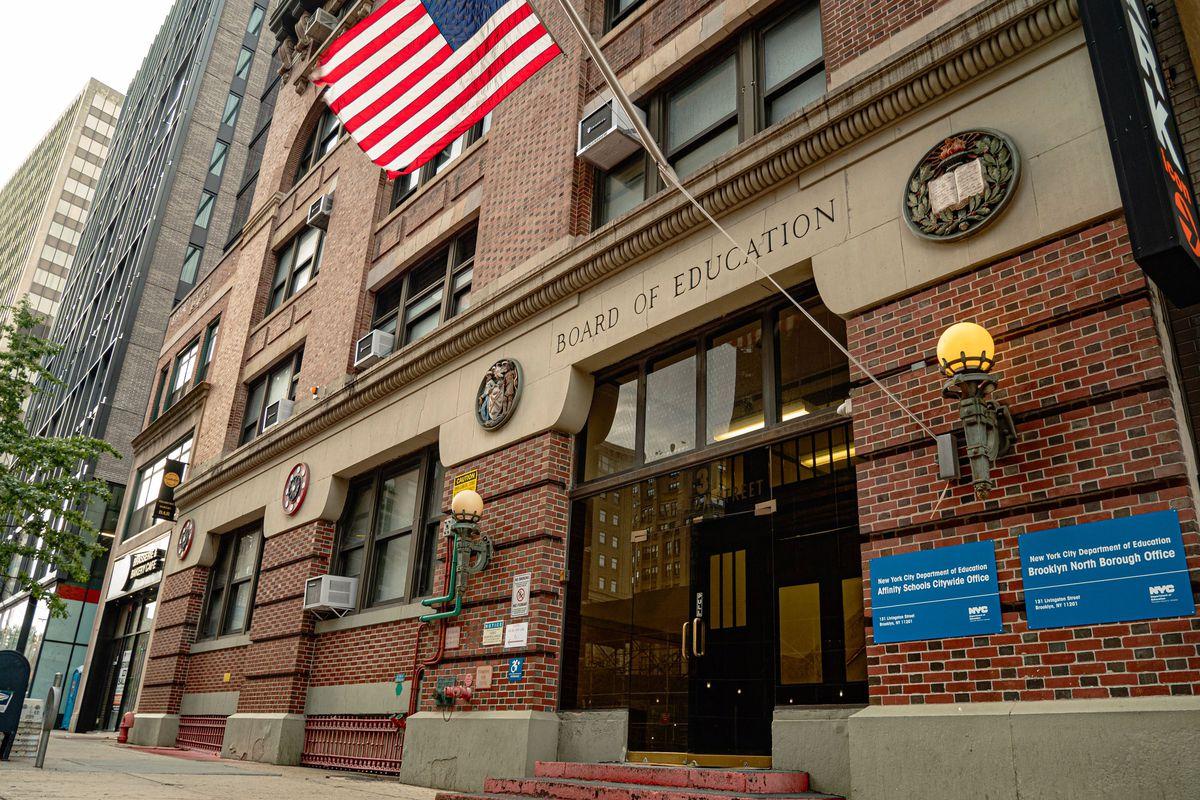 Board of Education headquarters.