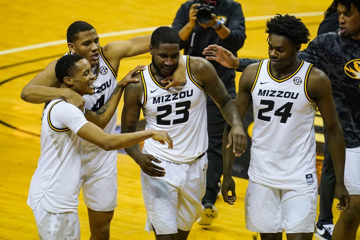 NCAA Basketball: Bradley at Missouri