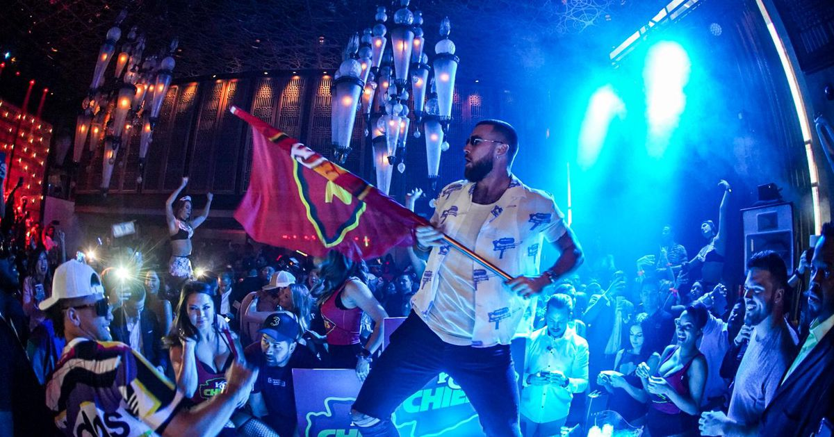 The Kansas City Chiefs Continue Their Super Bowl Celebration at Lavo