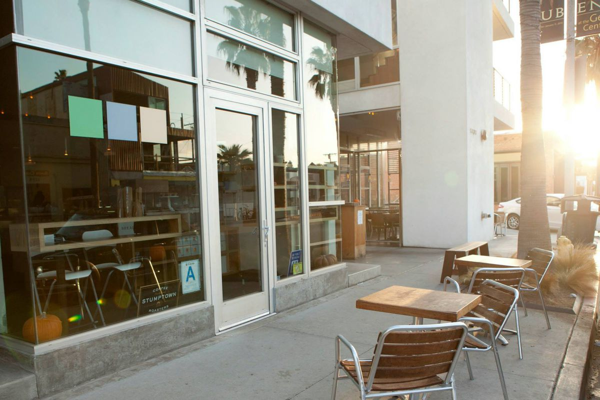3 Square Caf Bakery 1121 Abbot Kinney