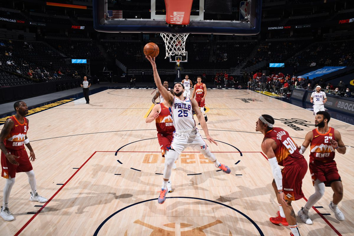 Philadelphia 76ers v Denver Nuggets
