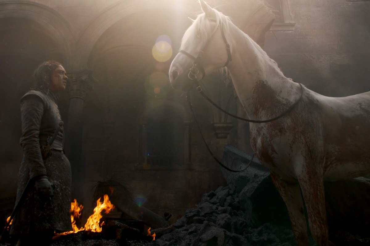 Game of Thrones episode 5: What was that horse with Arya