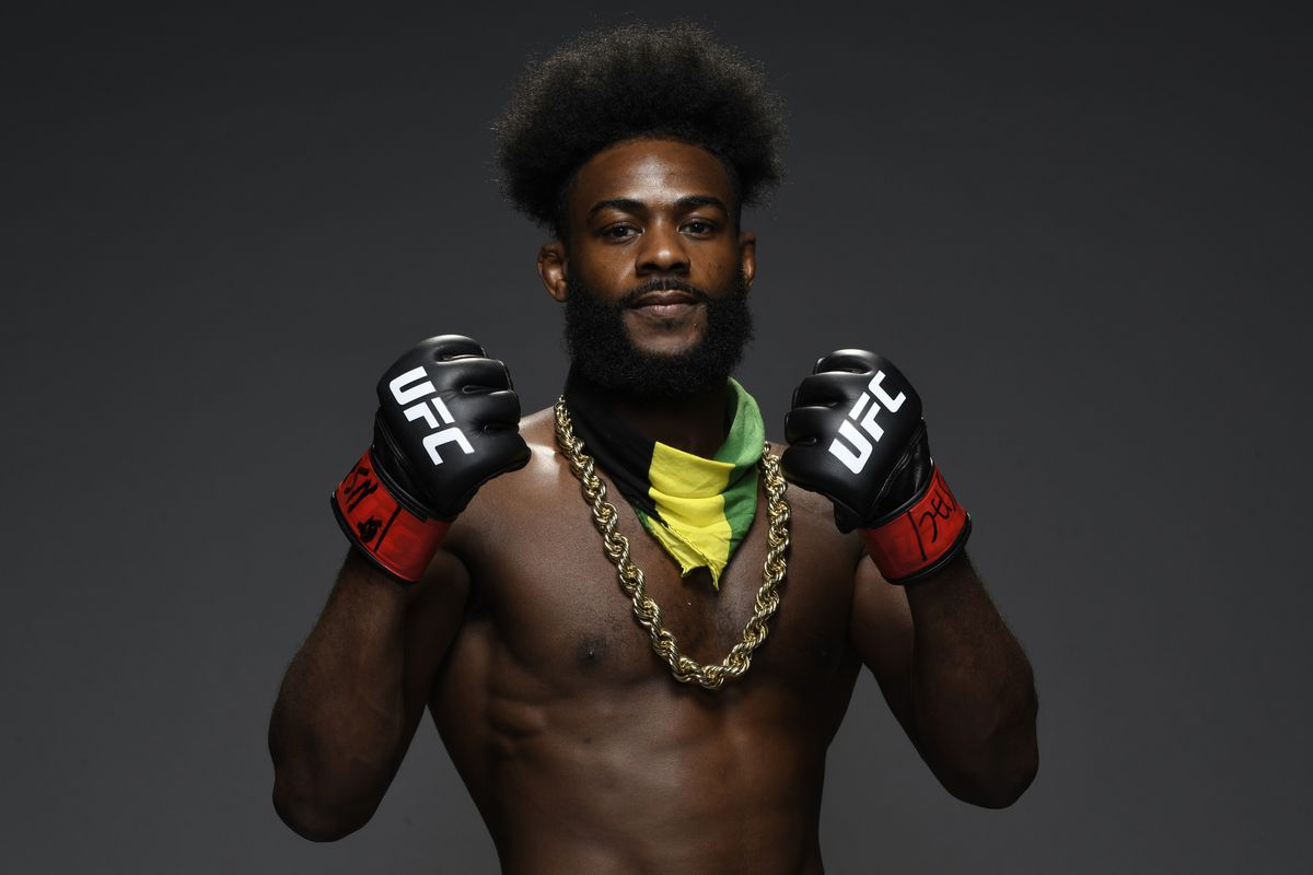 Aljamain Sterling wins by disqualification at UFC 259