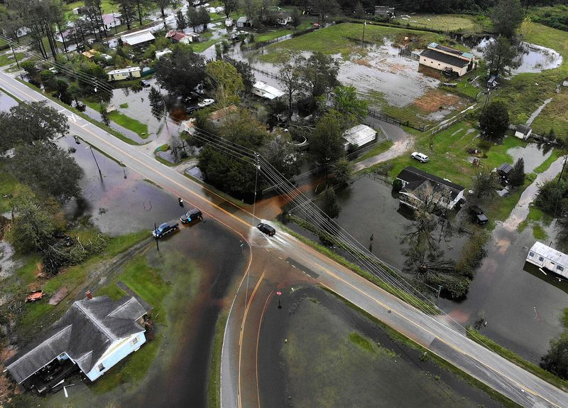 GettyImages_1034481230 Photos: what Hurricane Florence's destruction looks like on the ground