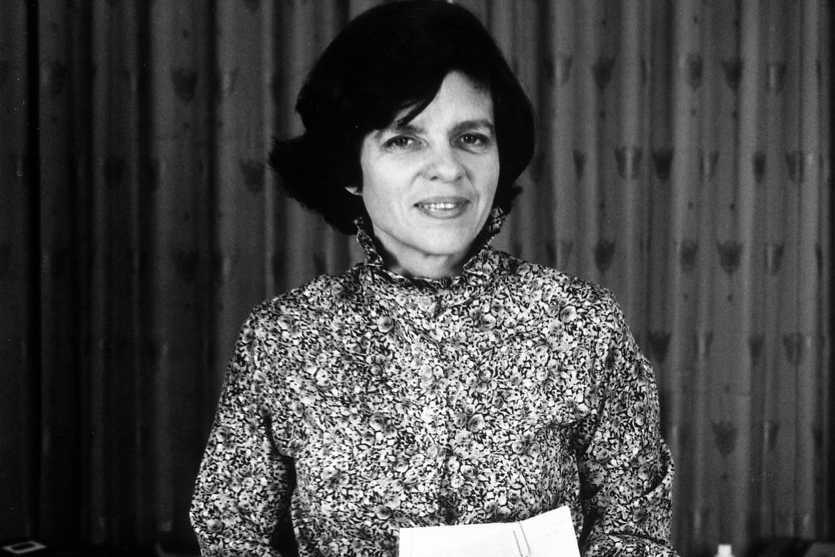 Alice Rivlin, shortly after becoming director of the Congressional Budget Office in 1975.