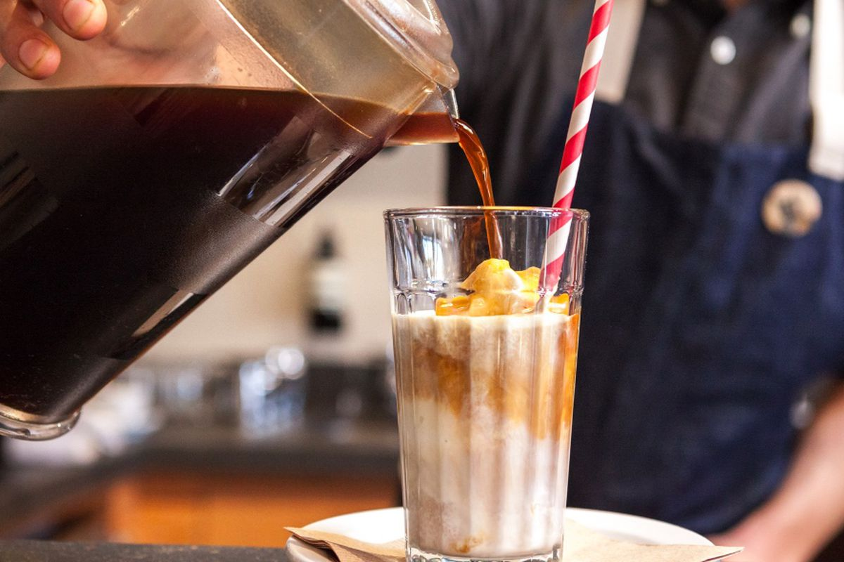 Drinkable, caffeinated ice cream at Affogato Bar, San Francisco.